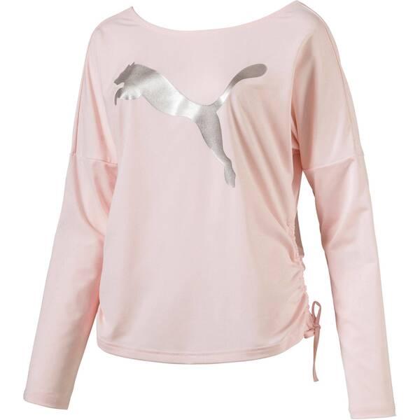 PUMA Damen Trainingsshirt Transition Light Cover Langarm