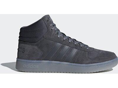 ADIDAS Herren Hoops 2.0 Mid Schuh Grau