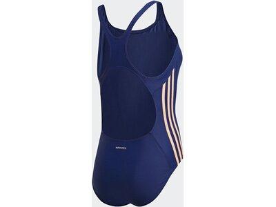 ADIDAS Damen 3-Streifen Badeanzug Blau