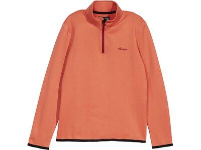 CHIEMSEE Fleece Pullover in weicher Qualität Rot