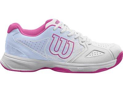 WILSON Damen Tennisschuhe Allcourt Kaos Stroke Weiß