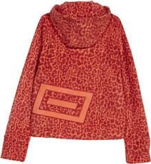 CHIEMSEE Fleece Jacke mit Alloverprint