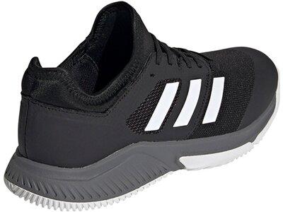 adidas Herren Court Team Bounce Hallenschuh Grau
