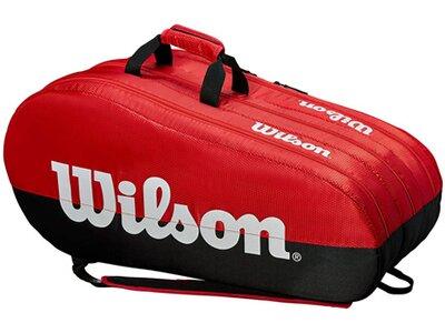 "WILSON Tennisschlägertasche ""Team 3 Comp"" Schwarz"