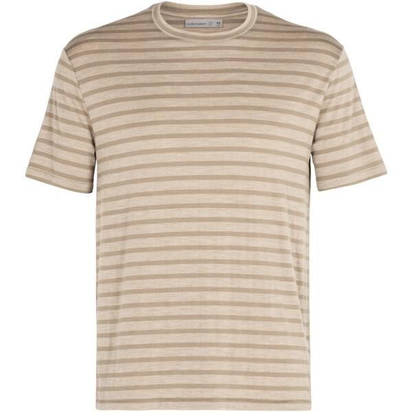 """ICEBREAKER Herren Outdoor-Shirt """"Cool-Lite Merino Utility Explore S/S Crewe Stripe"""" Kurzarm"""