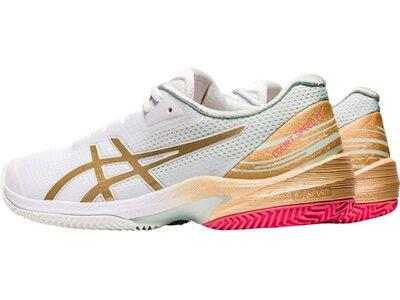 """ASICS Damen Tennisschuhe Sandplatz """"Court Speed FF Clay Limited Edition"""" Grau"""