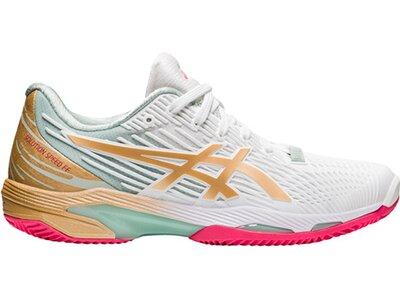 """ASICS Damen Tennisschuhe """"Solution Speed FF 2 New Strong Clay"""" Braun"""