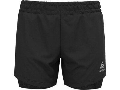 "ODLO Damen 2-in-1 Shorts ""Run Easy 5"" Schwarz"