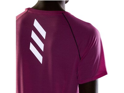 ADIDAS Damen Laufshirt Kurzarm Pink