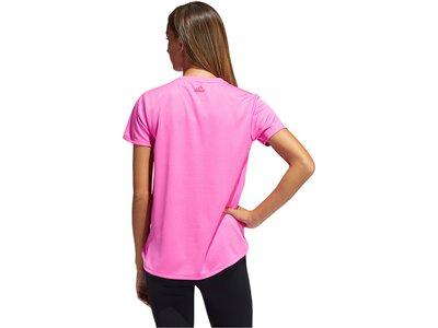 "ADIDAS Damen Trainingsshirt ""Badge of Sport Tee"" Kurzarm Pink"