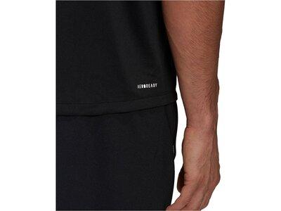 adidas Herren FreeLift T-Shirt Schwarz