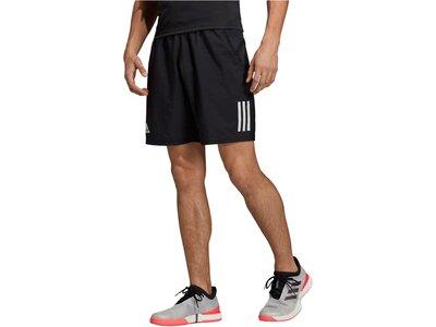 "ADIDAS Herren Tennisshorts ""Club 3 Stripes"" Braun"