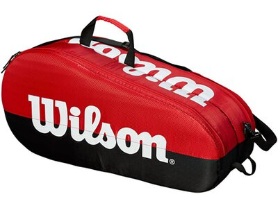 "WILSON Tennistasche ""Team 2 Compartment"" Schwarz"