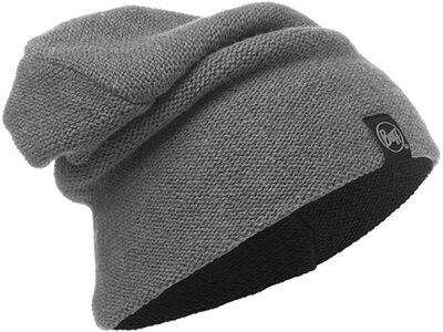 "BUFF Mütze / Strickmütze ""Knitted Hat Colt"" Grau"