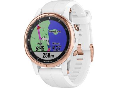 """GARMIN Damen GPS-Multifunktionsuhr """"fenix 5S Plus Saphire"""" Schwarz"""