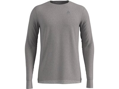 ODLO Herren Langarm Shirt BL TOP crew neck l/s MERINO 200 Grau