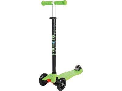 """MICRO Kinder Kickboard / Scooter """"Maxi Micro T-Lenker"""" Grün"""