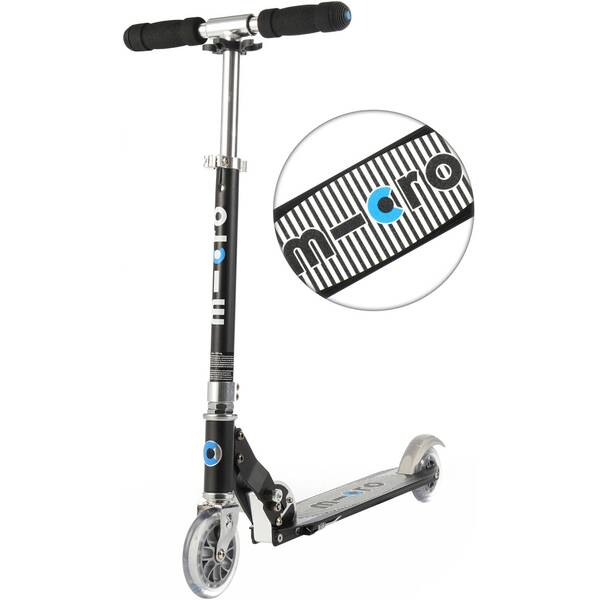 """MICRO Scooter / Roller """"Sprite"""" Special Edition Black Stripe"""