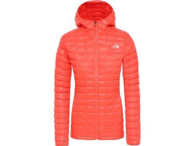 "THENORTHFACE Damen Steppjacke ""ThermoBall™ Eco Hoodie"" Orange"