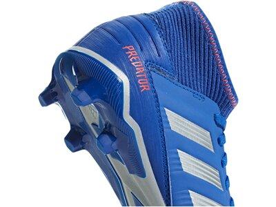 ADIDAS Fußball - Schuhe Kinder - Nocken Predator Virtuso 19.3 FG J Kids Blau