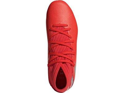 ADIDAS Fußball - Schuhe Kinder - Kunstrasen NEMEZIZ 302 Redirect 19.3 AG J Kids Rot