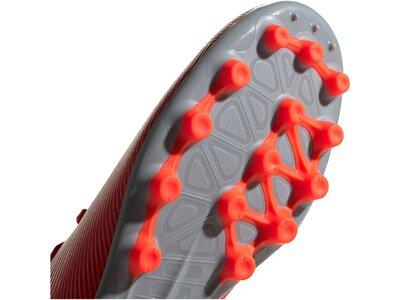 ADIDAS Fußball - Schuhe - Kunstrasen NEMEZIZ 302 Redirect 19.3 AG Rot