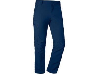 SCHÖFFEL Herren Hose lang Pants Folkstone Blau