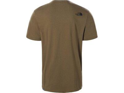 """THENORTHFACE Herren T-Shirt """"Easy"""" Braun"""