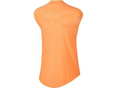 NIKE Damen Laufshirt Kurzarm Orange