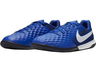 """NIKE Kinder Fußballschuhe """"Nike Jr. Tiempo Legend 8 Academy IC"""" Halle und Hartplatz Blau"""