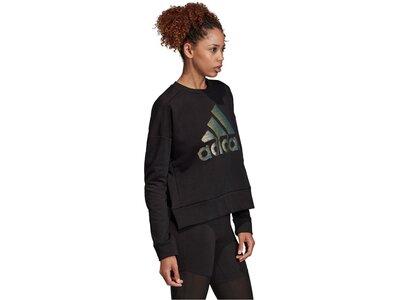 """ADIDAS Damen Fitness-Sweater """"ID Glam"""" Schwarz"""