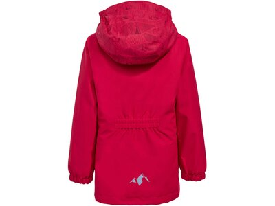VAUDE Kinder Campfire 3in1 Jacket Girls Rot