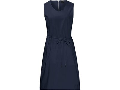 "JACKWOLFSKIN Damen Outdoor-Kleid ""Tioga Road Dress"" Blau"