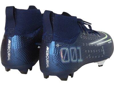 NIKE Fußball - Schuhe Kinder - Nocken Jr Mercurial Superfly VII Dreamspeed Elite FG Kids Blau