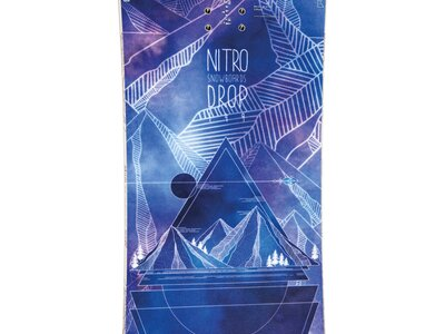 "NITRO Damen Snowboard ""Drop BRD´20"" Lila"