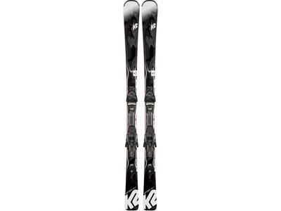 "K2 Damen Skier ""Anthem 72TI HS"" inkl. Bindung ""ERC 11 TCx Light Quikclik"" Schwarz"
