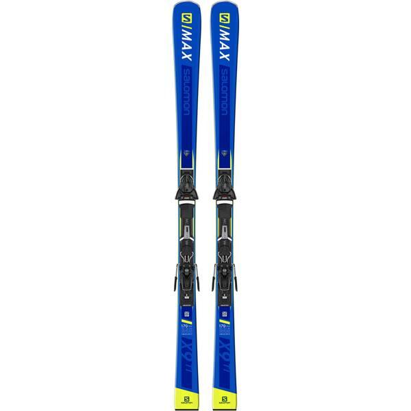 "SALOMON Skier ""E S/MAX TI"" inkl. Bindung ""Z10 GW"""