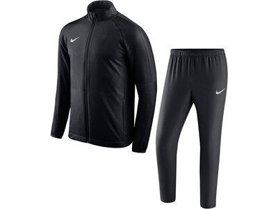 NIKE Fußball - Teamsport Textil - Anzüge Academy 18 Woven Trainingsanzug Schwarz