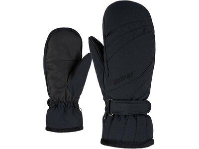 ZIENER Damen Handschuhe KILENIS PR MITTEN lady glove Schwarz