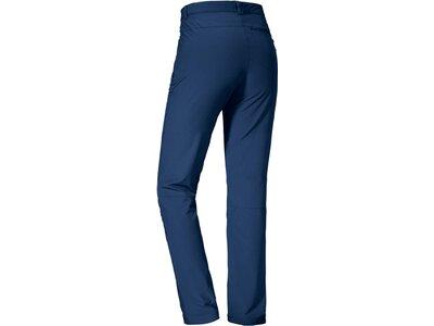 SCHÖFFEL Damen Hose unwattiert Pants Ascona Blau