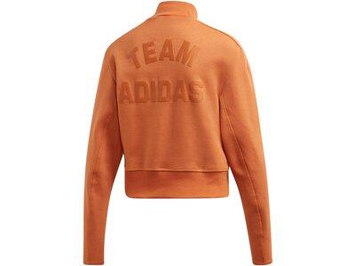 ADIDAS Damen Sweatshirt Orange