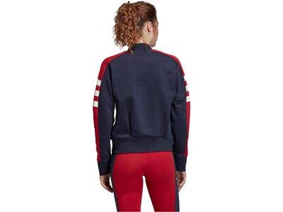 """ADIDAS Damen Trainingsjacke """"Sport ID"""" Blau"""
