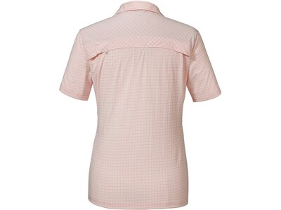 "SCHÖFFEL Damen Bluse ""Blouse Saragossa2 UV"" Kurzarm Pink"