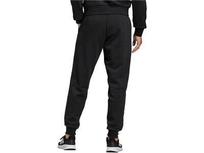 "ADIDAS Herren Sweathose ""Essentials Plain Tapered Pant Fleece Cuffed"" Schwarz"