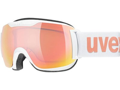 uvex downhill 2000 S CV blk SL/ro-green Weiß