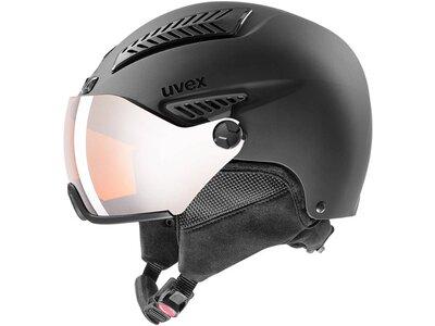 uvex hlmt 600 visor all white mat 57-59 Schwarz