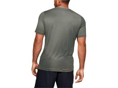 "UNDERARMOUR Herren Trainingsshirt ""Rush HeatGear"" Kurzarm Braun"