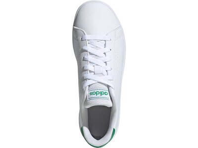 adidas Kinder Advantage Schuh Weiß
