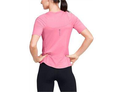 "UNDERARMOUR Damen Trainingsshirt ""Rush"" Kurzarm Pink"
