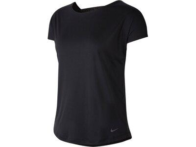 "NIKE Damen Trainingsshirt ""Pro"" Kurzarm Schwarz"